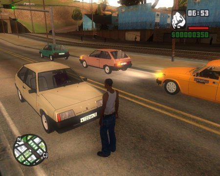 Grand Theft Auto: San Andreas - Russia Forever (2014)