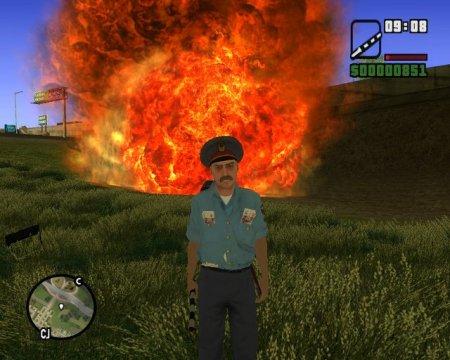 GTA / Grand Theft Auto: San Andreas - Ментовский Беспредел (2005)
